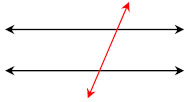 parallel lines and transversal