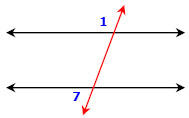 Parallel Lines Transversals And All Of The Corresponding Angles